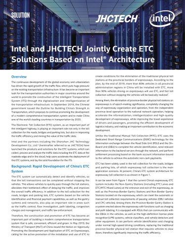 Intel&JHCTECH ETC White Paper