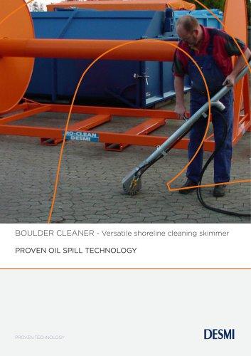 BOULDER CLEANER - Versatile shoreline cleaning skimmer