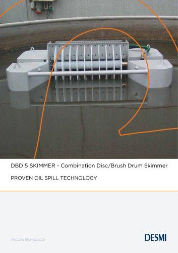 DBD 5 SKIMMER - Combination Disc/Brush Drum Skimmer