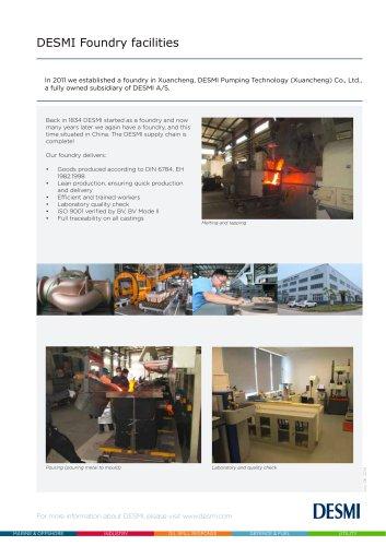 DESMI Foundry Xuangcheng