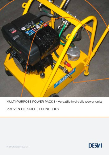 MULTI-PURPOSE POWER PACK 1 - Versatile hydraulic power units