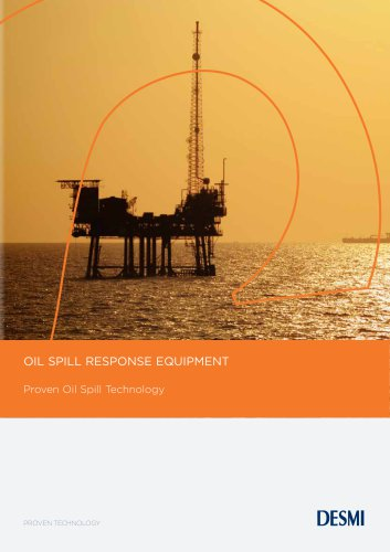 Oil Spill Response product brochure