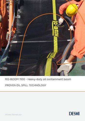 RO-BOOM 1100 - Heavy-duty oil containment boom