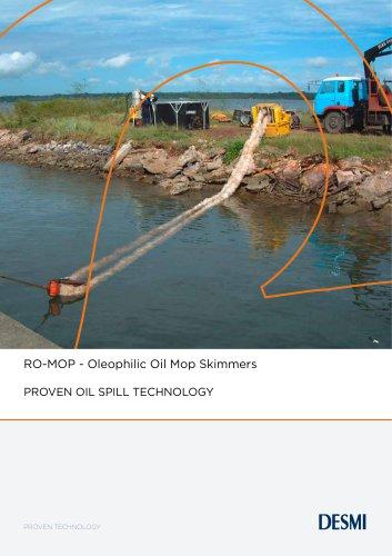RO-MOP - Oleophilic Oil Mop Skimmers