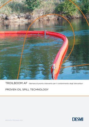 TROILBOOM AF - Barriera di pronto intervento per il contenimento degli idrocarburi