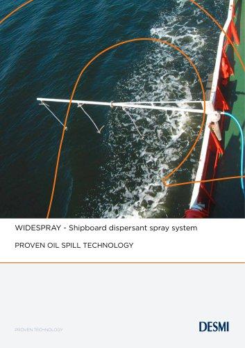 WIDESPRAY - Shipboard dispersant spray system