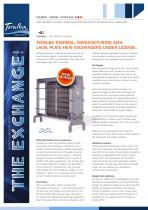 TERALBA THERMAL, MANUFACTURING ALFA LAVAL PLATE HEAT EXCHANGERS UNDER LICENSE.