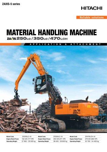 material handling machine