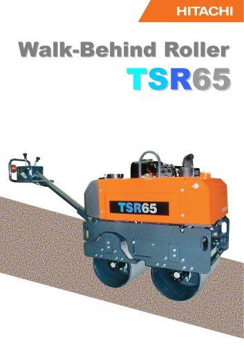 Walk behind roller TSR65