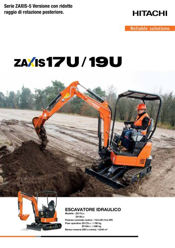 Zaxis 17U/19U