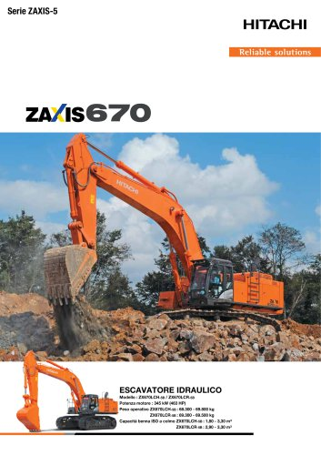 ZX670LCH-5 / ZX670LCR-5