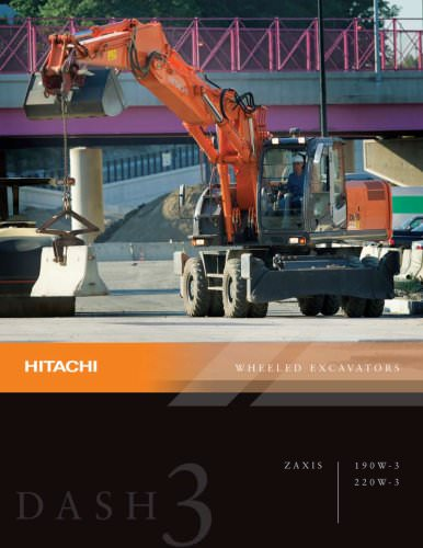 Hitachi Wheeled Excavators