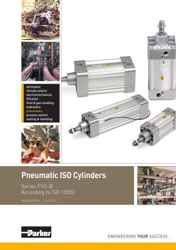 Pneumatic Cylinders - P1D-B Series Technical Catalogue - PDE2659TCUK