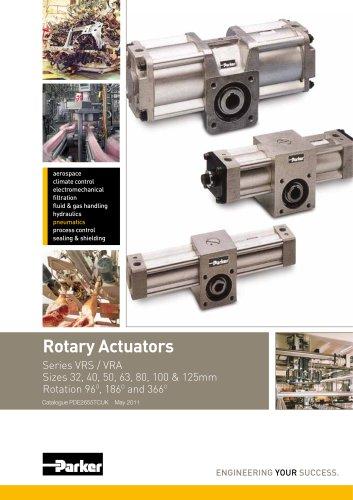Rotary Actuators Series VRS / VRA - Catalogue PDE2655TCUK