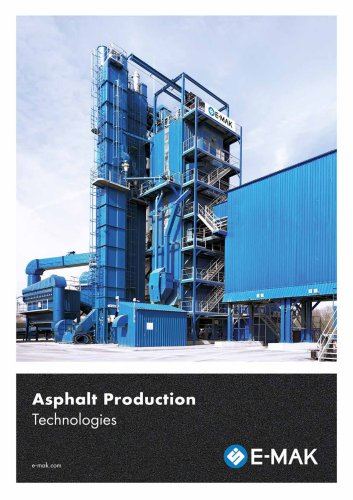 Asphalt Production Technologies
