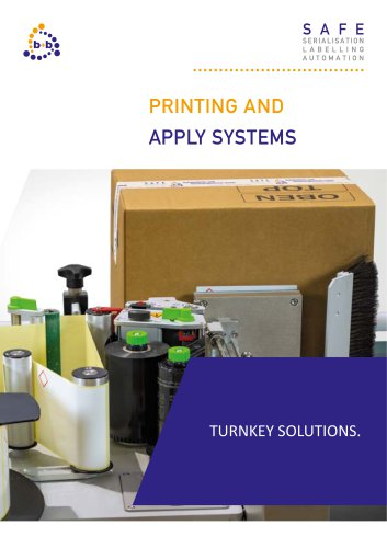 Print- and apply systems