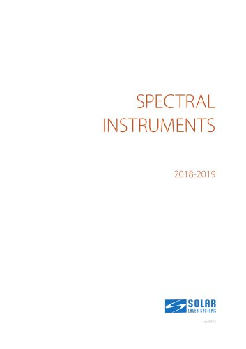 Spectral products catalogue