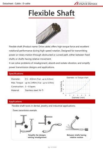 Flexible shaft
