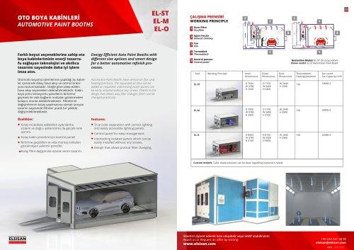 Autuomotive Paint Booths Elsisan Brochure