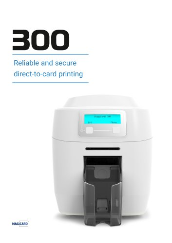 Reliable and secure direct-to-card printing