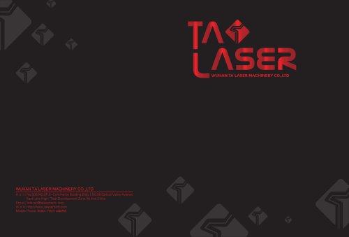 2019 TA LASER catalogue