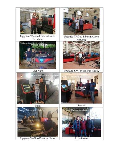TA Laser Machine in the World