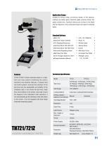 TH721/721Z Digital Vickers Hardness Tester