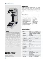 TH723/723Z Digital Vickers Hardness Tester