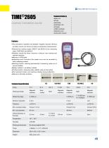 TIME2605 High Accuracy Portable Coating Thickness Meter