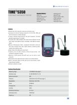 TIME5350 advanced portable hardness tester with software calibration function