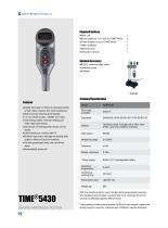 TIME5430 Digital Shore A Hardness Tester for Rubber, Plastics