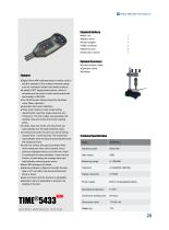 TIME5433 Shore Hardness Tester for Thin Rubber and Plastics