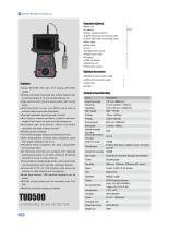 TUD500 Portable Ultrasonic Flaw Detector
