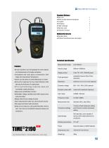 Ultrasonic Thickness Gauge TIME®2190