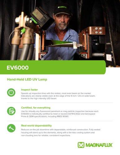 EV6000 Hand-Held LED UV Lamp