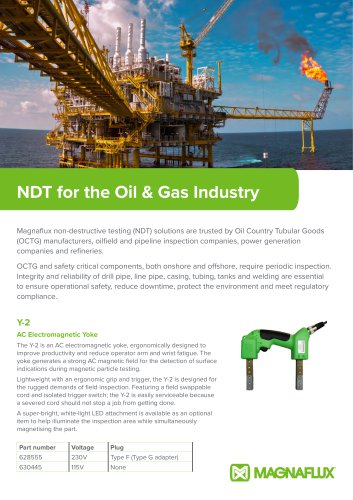 NDT for the Oil & Gas Industry