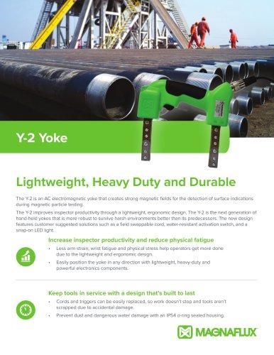 Y-2 Yoke: Lightweight, Heavy Duty and Durable