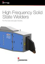 High Frequency Solid State Welders