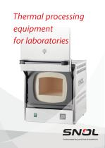 Thermal Processing equipment for laboratories