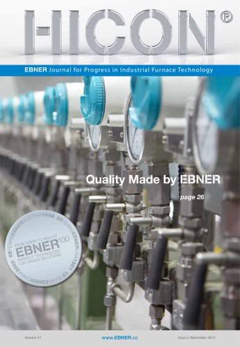 BNER Journal for Progress in Industrial Furnace Technology 2013
