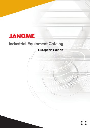 Janome Industrial Equipment General Catalog