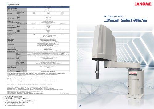 JS3 Series SCARA Robot