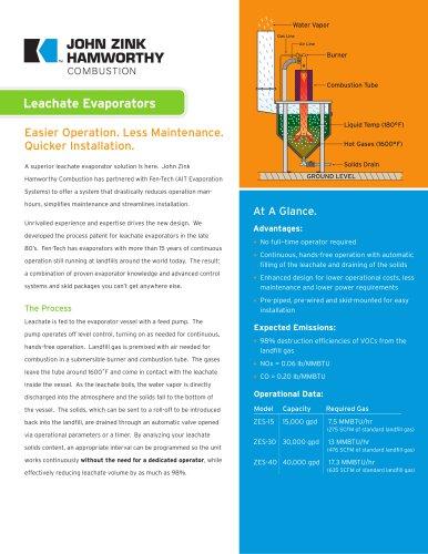 Leachate Evaporators
