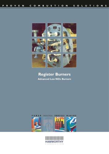 M Type Register Burner