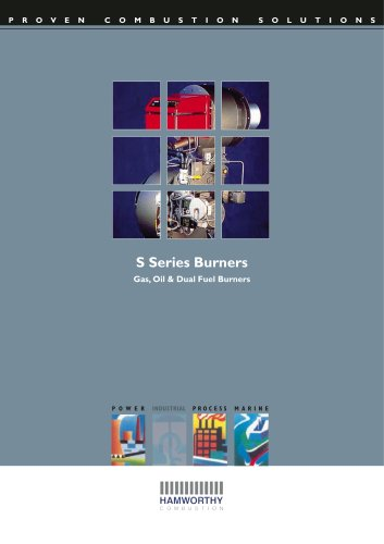 S Series Pressure Jet Burner