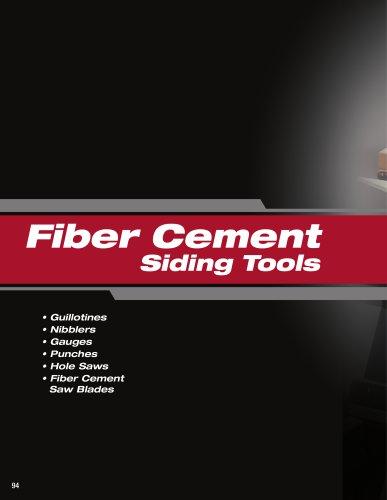 Fiber Cement Siding Tools