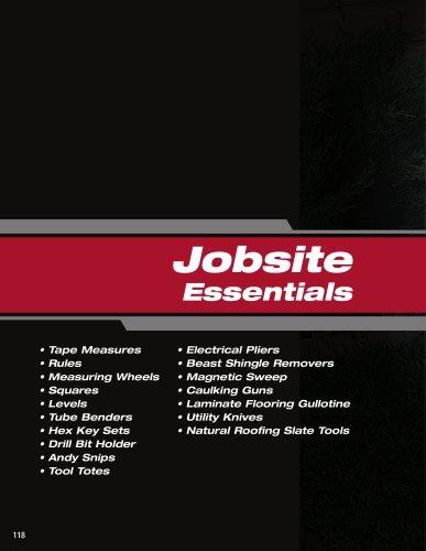 Jobsite Essentials