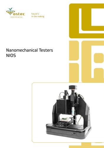 Nanomechanical Testers NIOS