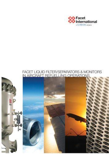liquid filter/separators & monitors in aircraft refueling operations