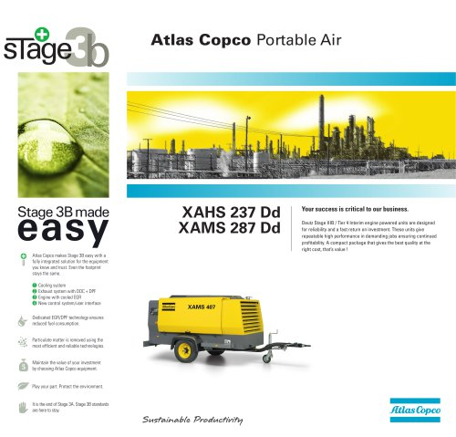 Atlas Copco Portable Air